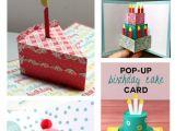 Card Pop Up Birthday Cake 19 Best Simple Pop Up Birthday Card Di 2020