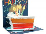 Card Pop Up Birthday Cake Up with Paper Everyday Pop Up Greeting Card 5 1 4 X 5 1 4 Big Slice Of Cake Item 8142061