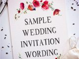 Card Sample for Marriage Invitation 15 Wedding Invitation Wording Samples From Traditional to Fun