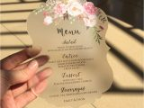 Card Sample for Marriage Invitation Customized Sample Set Rustic Water Color Style 5x7inch