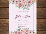 Card Sample for Marriage Invitation Floral Wedding Card Invitation