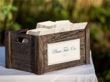 Card Stock for Wedding Programs Put Your Ceremony Programs On Display In A Cute Container to