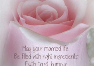 Card to Husband On Wedding Day A A May Your Married Life Be Filled with Right Ingredients