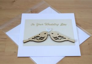 Card to Husband On Wedding Day Unique Wedding Gift for Couple Luxury Wedding Card Gift