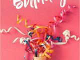 Card to Say Happy Birthday Happy Birthday Cone Confetti Streamers with Images Happy