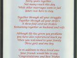 Card Verses for 40th Wedding Anniversary Wedding Anniversary Poems