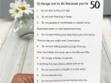 Card Verses for 50th Birthday Funny 50th Birthday Poem Card with Images 50th Birthday