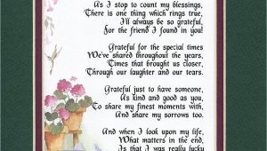 Card Verses for 70th Birthday 155 Gift Friendship Poem 30th 40th 50th 60th 70th Birthday