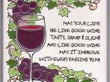 Card Verses for Friends Birthday Birthday Wish for Wine Lovers Birthday Wishes for Friend