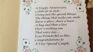 Card Verses for Wedding Anniversary Verse Inside the Floral Anniversary Card Anniversary Cards