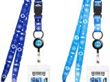 Card with Professional Details Worn On A Lanyard Cruise Lanyards Adjustable Lanyard with Retractable Reel Waterproof Id Badge Holder for All Cruises Ships Key Cards 2pack