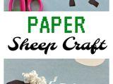 Cardboard Sheep Template Paper Sheep Craft Inspired by Shaun the Sheep Animal
