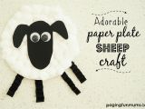 Cardboard Sheep Template Sheep Paper Plate How to Make A Paper Plate Lamb Sc 1 St