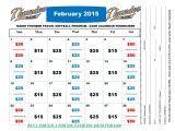 Cash Calendar Fundraiser Template Fundraising