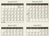 Cash Calendar Fundraiser Template Ilderton Parents Resource Cash Calendars