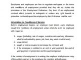 Casual Contract Of Employment Template 23 Sample Employment Contract Templates Docs Word