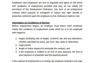 Casual Employee Contract Template 23 Sample Employment Contract Templates Docs Word