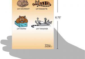 Cat Singing Happy Birthday Card Geburtstagskarte Mit Katzenfutter Lustig Mit Umschlag