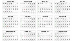 Cd Calendar Template 2018 2018 Calendar Printable Template