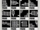 Cd Calendar Template Cd Case Calendar Digital Scrapbooking Templates