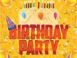 Celebration Flyer Templates Free 11 Beautiful Free Birthday Flyers Templates Utemplates