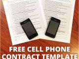 Cell Phone Contract Template Cell Phone Contract for Kids Digital Mom Blog
