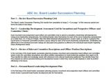 Ceo Succession Planning Template Emergency Ceo Succession Plan Template Templates