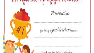 Certificate Of Appreciation for Teachers Template 9 Sample Certificates Of Appreciation Sample Templates