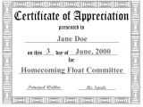 Certificate Of Appreciation for Teachers Template New Free Printable Pdf Certificates Certificate Templates