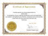 Certificates Of Appreciation Templates 24 Sample Certificate Of Appreciation Temaplates to