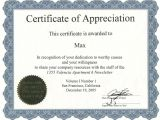 Certificates Of Appreciation Templates Appreciation Certificate Certificate Templates