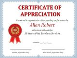 Certificates Of Appreciation Templates Ms Word Certificate Of Appreciation Office Templates Online