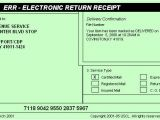 Certified Mail Receipt Template Irs Delivers Document Delivery Regulations Wang solutions