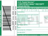 Certified Mail Receipt Template Mail Services Print Mail Services Texas State University