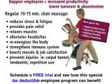 Chair Massage Flyer Templates 41 Best Massage Chair Massage Images On Pinterest
