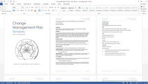 Change Management Proposal Template Change Management Plan Download Ms Word Excel Templates
