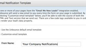 Change Of Email Address Template Lead Notification and Communication Documentation