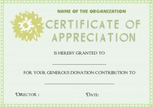 Charitable Donation Certificate Template 22 Legitimate Donation Certificate Templates for Your Next