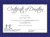 Charitable Donation Certificate Template 29 Images Of Charitable Donation Certificate Template