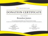 Charitable Donation Certificate Template Free Donation Certificate Template In Adobe Photoshop