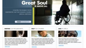 Charity Site Templates 17 Charity HTML Website Templates Free Premium Download