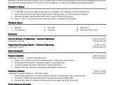 Chemical Engineering Internship Resume Samples Chemical Engineer Resume Template 6 Free Word Pdf