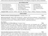 Chemical Engineering Resume Chemical Engineer Resume Sample Template