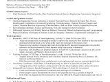 Chemical Engineering Resume Chemical Engineering Resume