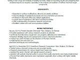 Chemist Cv Template 1 Chemist Resume Templates Try them now Myperfectresume