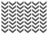 Chevron Template for Painting Chevron Stencils Template Small Scale for Crafting