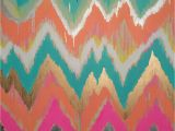 Chevron Template for Painting Custom Ikat Chevron 30×30 Painting by Jennifer Moreman