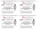 Chick Fil A Flyer Template Castle Rock Community Club October 2011