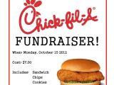 Chick Fil A Flyer Template Chick Fil A Fundraiser Flyer Chick Fil A Fundraiser