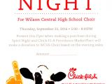 Chick Fil A Flyer Template Chick Fil A Spirit Night Flyer and Yankee Candle Online